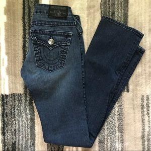 True Religion Billy Dk Blue Jeans 24